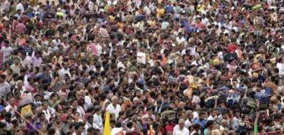 美媒:2024年印度将超中国成世界人口第一大国